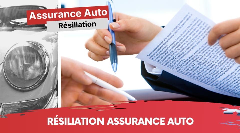 différents modèles de lettre de résiliation d'assurance auto