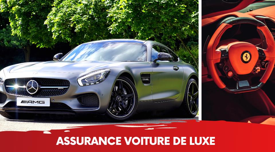 les voitures de luxe affichent des couts d'assurance auto très chers