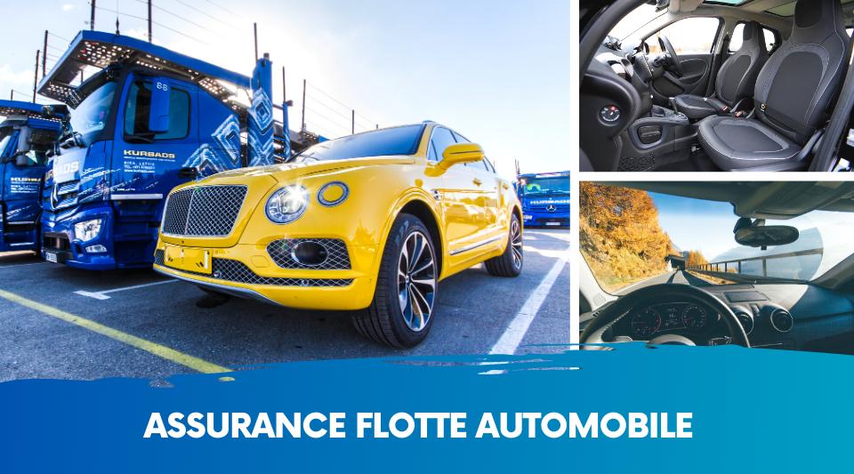 un parc automobile (flotte) peut disposer d'assurances différentes