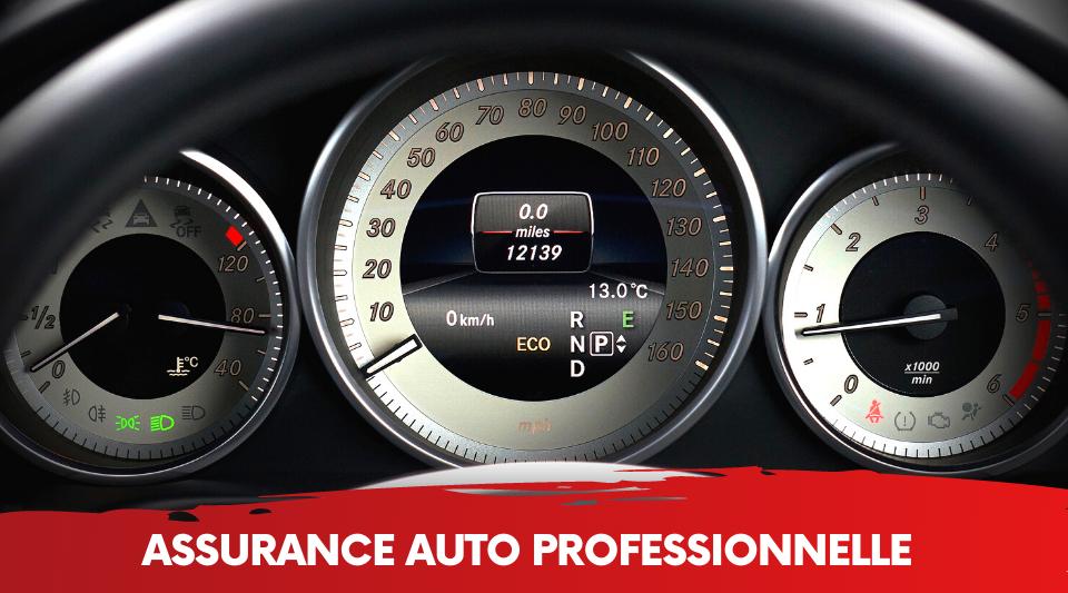 les voitures professionnelles et de fonctions peuvent avoir une couverture d'assurance