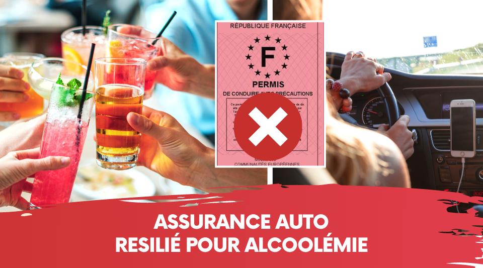 boire au volant peut permettre à l'assureur de résilié votre contrat auto
