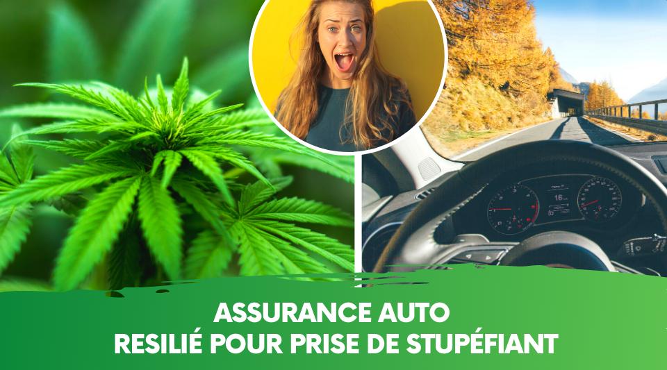 prendre des stupéfiants met à risque vis à vis de son assurance voiture