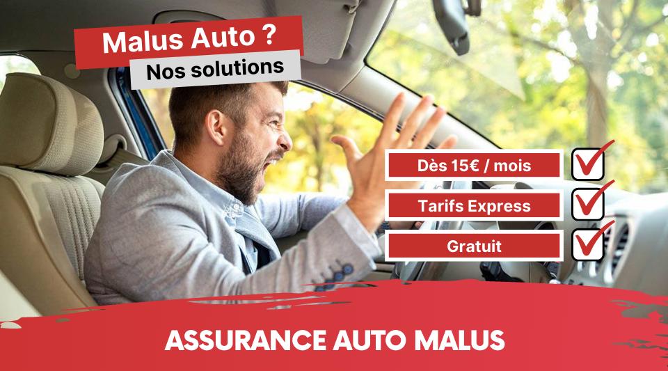 avoir du malus fait gonfler la facture d'assurance automobile