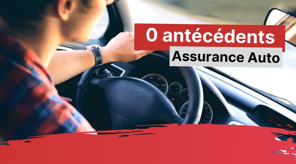 un conducteur sans antécédents d'assurance pour sa voiture