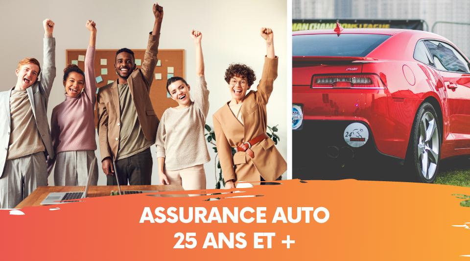 l'assurance auto des plus de 25 ans
