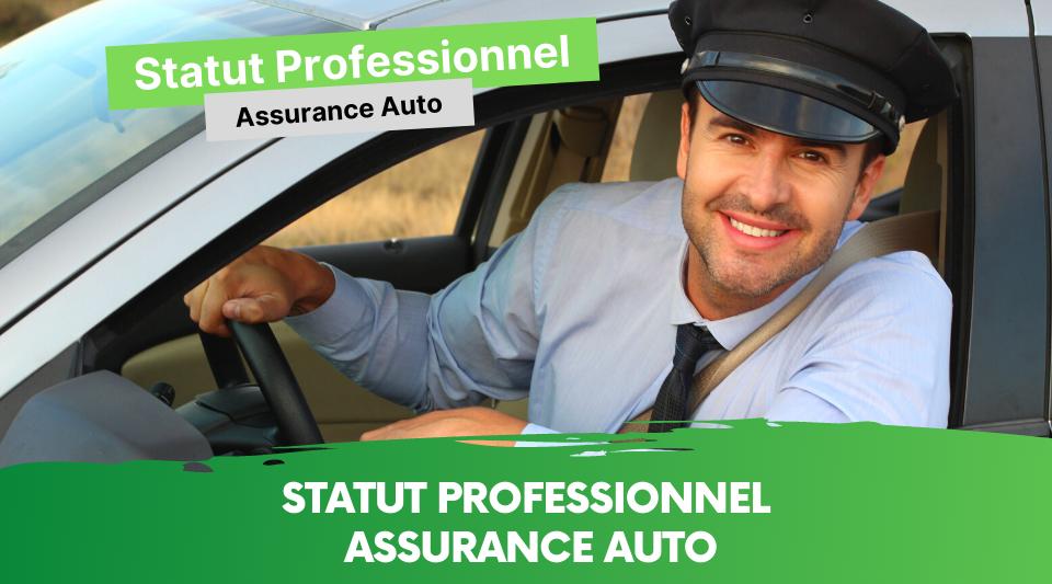 statut pro et couverture d'assurance voiture