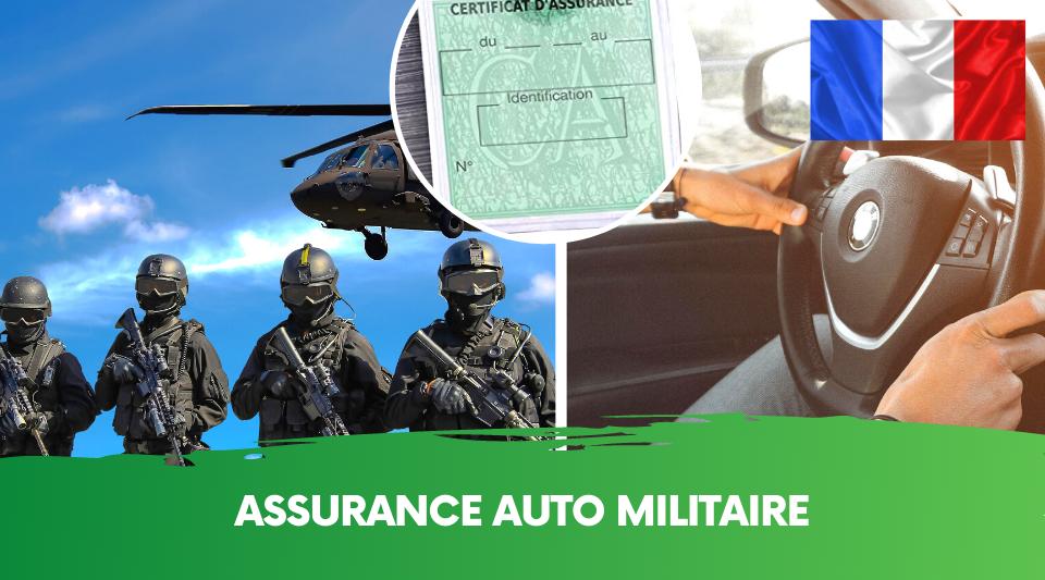 spécificité des assurances pour les autos de militaires
