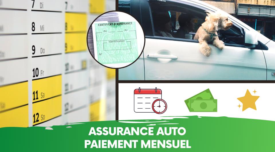 automobiliste payant son assurance auto mensuellement