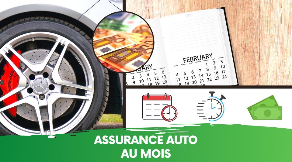 conducteur payant au mois une assurance temporaire