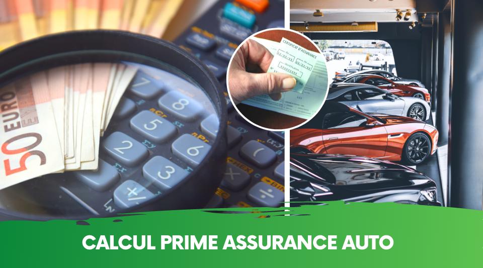 explication du calcul de la prime d'une assurance pour auto