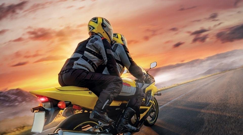 moto assurée grâce à un comparateur d'assurances sur internet