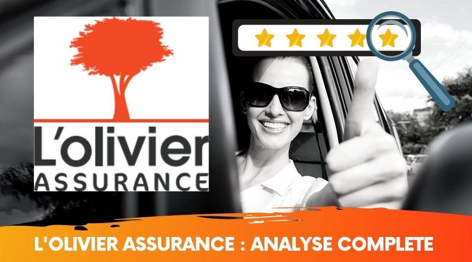 Comparatif des assurances auto l'olivier assurance